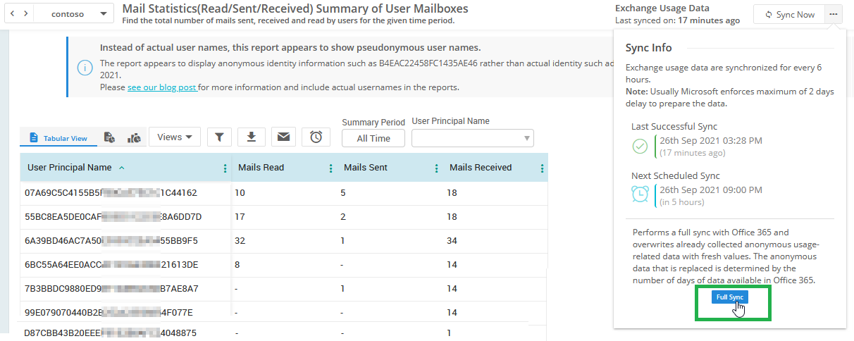 How to Enable Identifiable User Names in Microsoft 365 Usage Analytics Reports